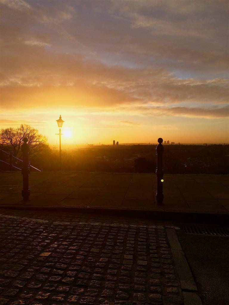 sunrise-over-alexandra-palace-blog-post-taking-the-time-karen-bryson