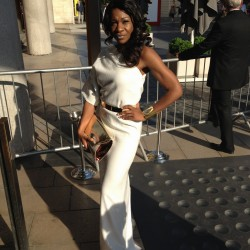 Karen Bryson at the Baftas
