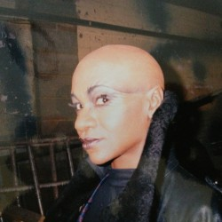 Karen Bryson playing Deemon on the set of Diana Delusion