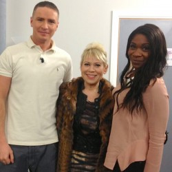 Karen Bryson Tina Malone Micheal Taylor 'What's Cooking' guests