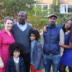 karen bryson and cast of family reunion
