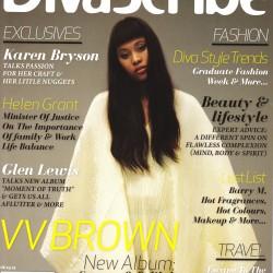 Cover of DivaScribe Magazine