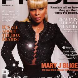Cover of Pride magazine