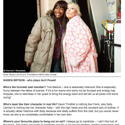 karen-bryson-tina-malone-shameless-reveal-magazine-channel4-tv-behind-the-scenes