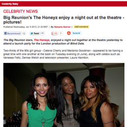karen-bryson-honeyz-blind-date-press-night-theatre