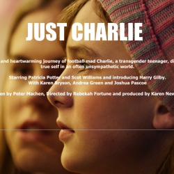 Karen Bryson in the feature film Just Charlie