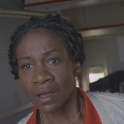 Karen Bryson as Maria Adams in the film The Carrier