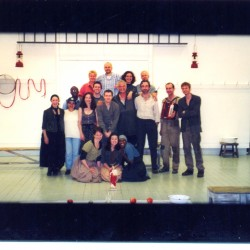 The cast of La Lupa at the RSC